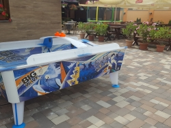 Air hockey Big wave